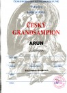 Arun Český GRANDŠAMPION